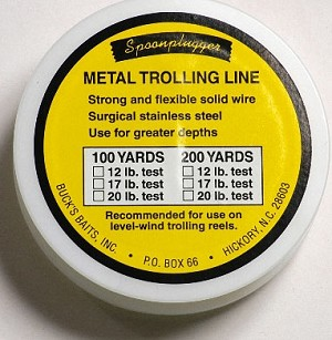 Stainless Metal Trolling Line