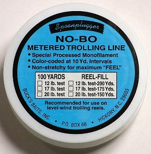 No-Bo Metered Trolling Line